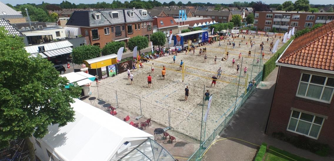 Foto bij 23e Data Visual Beach volleybal Enter