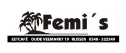 Logo van Femi's Eetcafe Rijssen