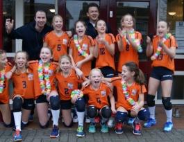 Foto bij Meisjes C3 Kampioen