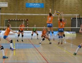 Foto bij Dames 1 vs Krekkers