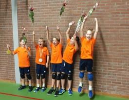 Foto bij Rivo jongens 4.3 kampioen!