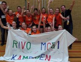 Foto bij Rivo MC1 kampioen hoofdklaase!