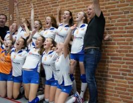 Foto bij Meisjes C kampioen van Nederland