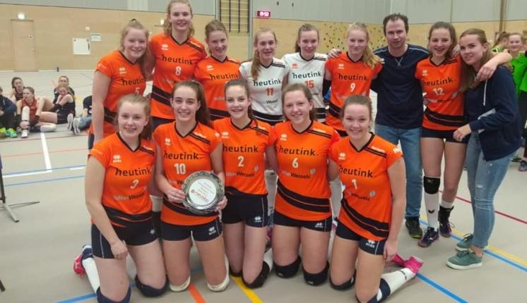 Foto bij Meisjes C Nederlands Kampioen en Meisjes B 4e