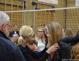 Foto bij Huldigingen en afscheid