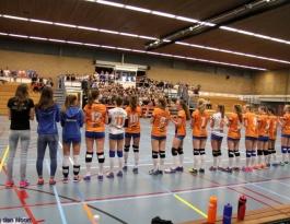 Foto bij Bekerfinale Rivo meisjes 2017