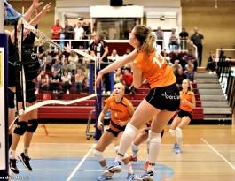 Foto bij Rivo D1 - VC Zwolle D2 18-09-2021
